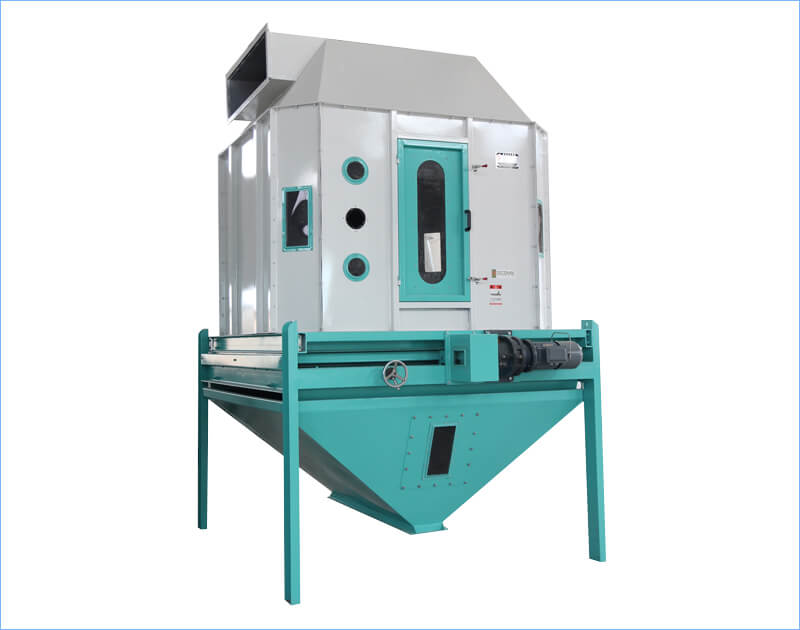 fish feed cooling machine