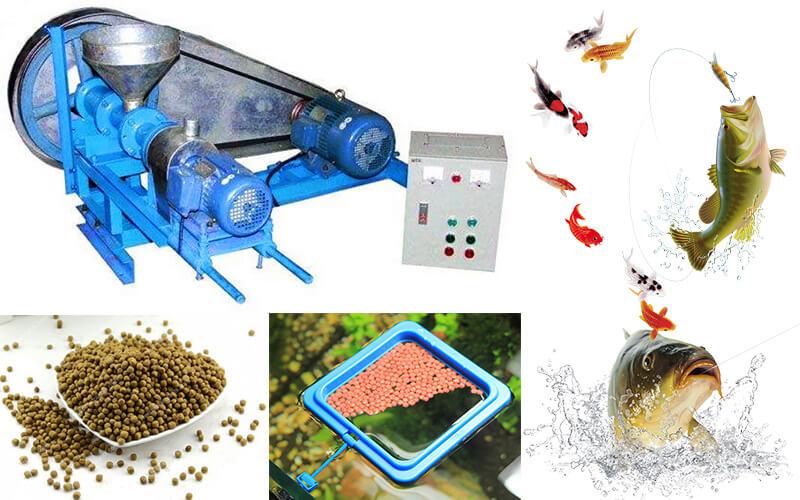 mini fish feed extruder